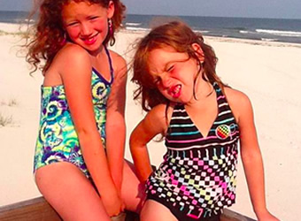 Girls' Swimsuits under $10